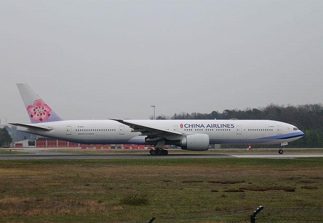 """B 777-35NER """" B-18051"""" China Airlines  -1"""