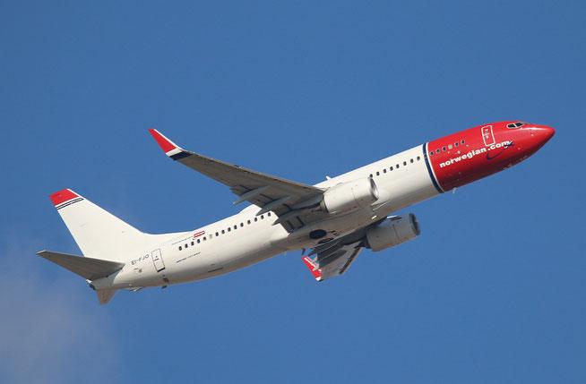 "B 737-8JP  "" EI-FJO ""  Norwegian -1"
