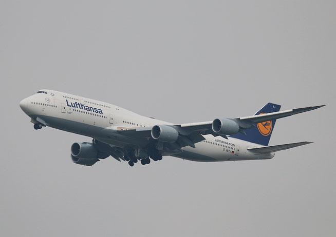 "B 747-830  "" D-ABYJ ""  Lufthansa -1"