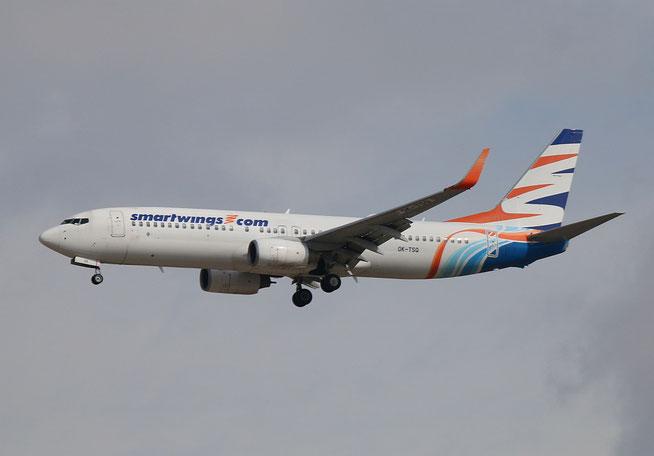 """B 737-8KN  """" OK-TSQ """" Smartwings -1"""