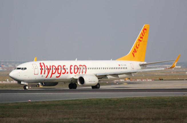 "B 737-82R/W "" TC-CPI "" Pegasus Airline -1"