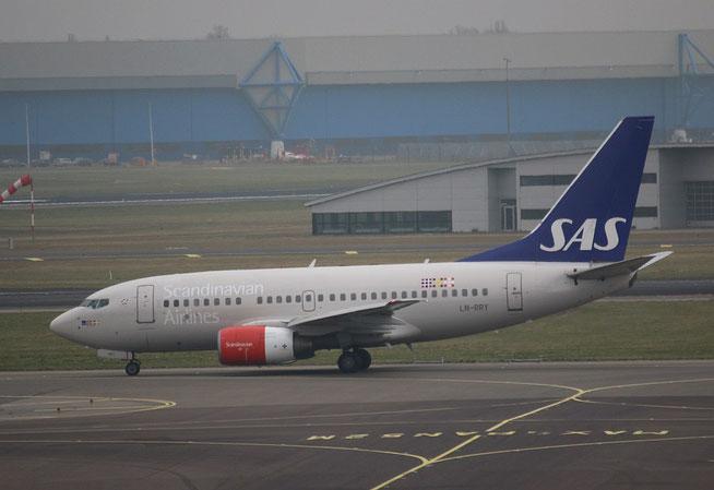"B 737-683 "" LN-RRY ""  SAS -1"