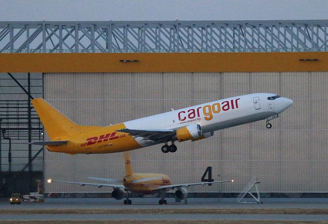 """B 737-4YO  """" LZ-CGT """"  Cargo Air -2"""