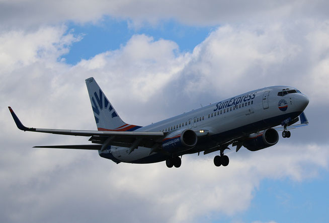 """B 737-86Q/W """" TC-SUU """" SunExpress -2"""