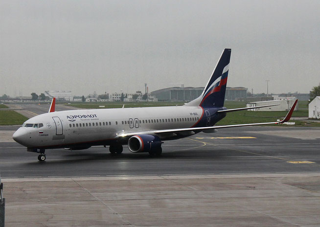 "B 737-8LJ/W  "" VP-BGG ""  Aeroflot -1"