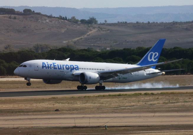 "B 787-8  "" EC-MIG ""  Air Europa -2"