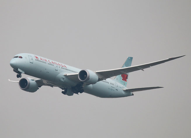 "B 787-9  "" C-FNOE ""  Air Canada -1"