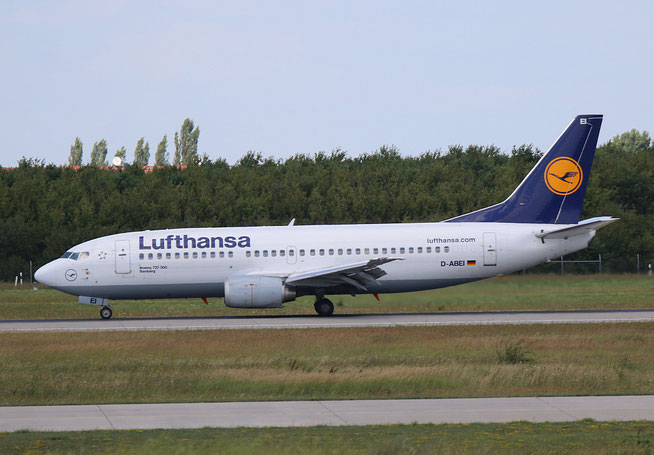 """B 737-330  """" D-ABEI """"  Lufthansa -2"""