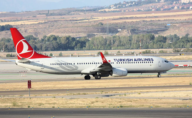 "B 737-9F2ER/W "" TC-JYM "" Turkish Airlines -2"