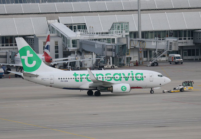 "B 737-7K2/W "" PH-XRA "" Transavia Airlines -3"