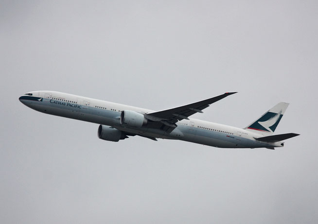"B 777-367ER "" B-KPZ "" Cathay Pacific Airways -1"