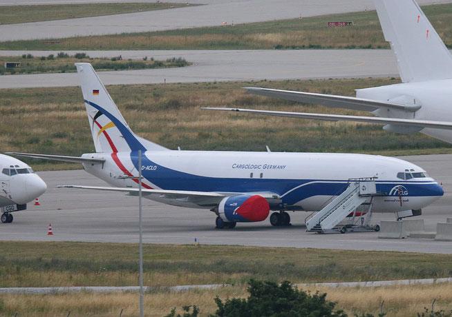 "B 737-4H6(SF)  "" D-ACLO ""  CargoLogic Germany -1"