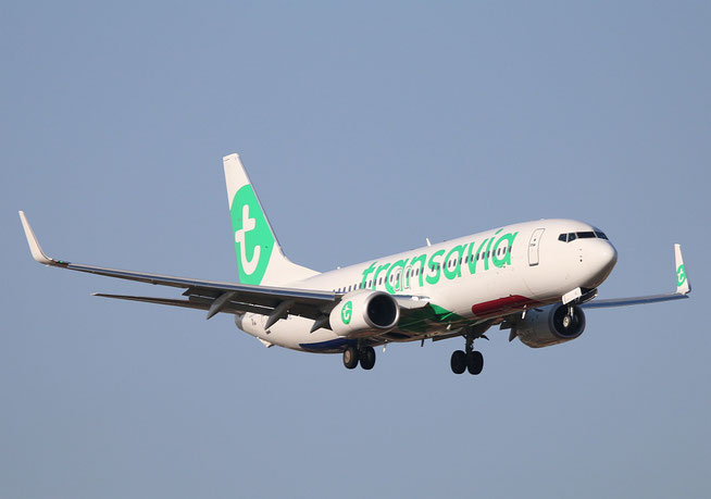 "B 737-8K2/W "" PH-HXE "" Transavia Airlines -1"