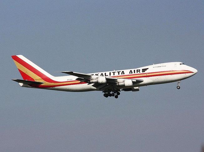 """B 747-4B5(F) """" N713CK """"  Kalitta Air -1"""