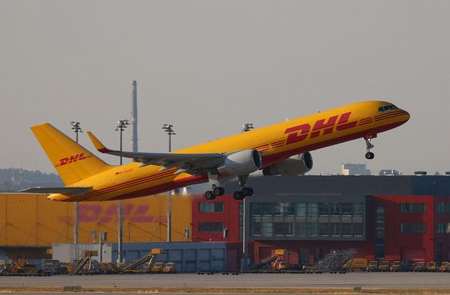 """B 757-2Q8(PCF)(WL)  """" D-ALEP """"  EAT Leipzig -2"""