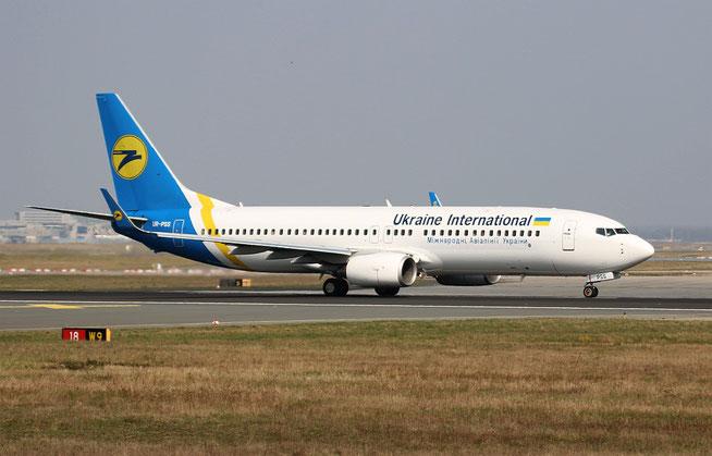 "B 737-8AS/W "" UR-PSS "" Ukraine International Airlines -1"