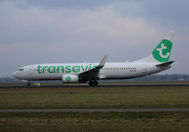 "B 737-8K2/W "" PH-HZE "" Transavia Airlines -1"