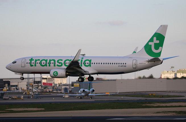 "B 737-8K2/WL  "" F-HTVD "" Transavia France -1"