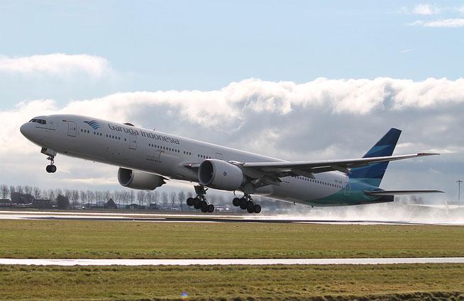 "B 777-3U3ER "" PK-GIF ""  Garuda Indonesia -2"