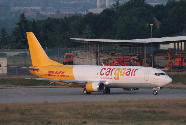 "B 737-448/SF  "" LZ-CGR ""  Cargo Air -2"