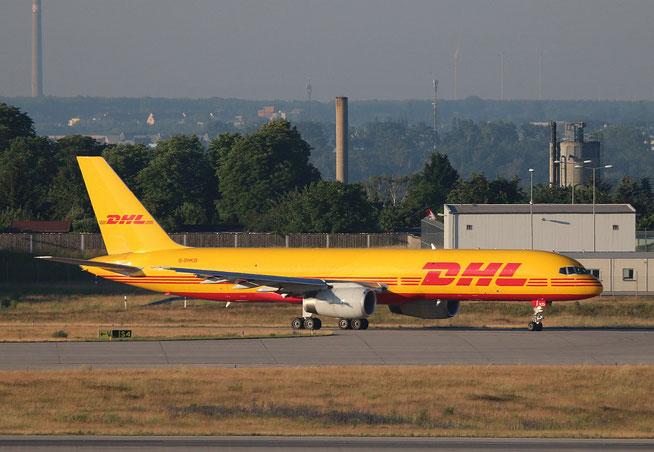 """B 757-223PCF(WL) """" G-DHKO """" DHL Air -1"""