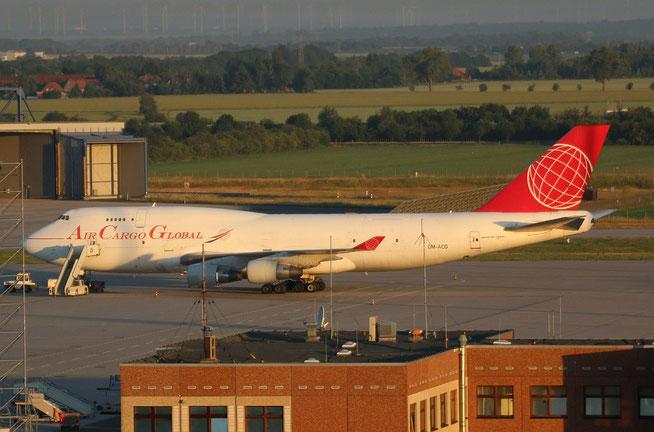"""B 747-409/BDSF  """" OM-ACG """" Air Cargo Global -1"""