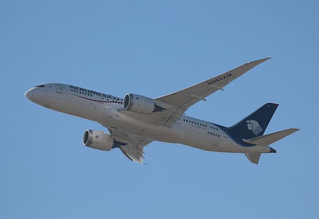 "B 787-8  "" N965AM "" Aeromexico -1"