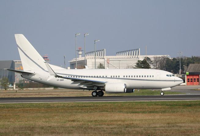 """B 737-79T/W BBJ """" VP-BWR """"  USAL Ltd. -1"""