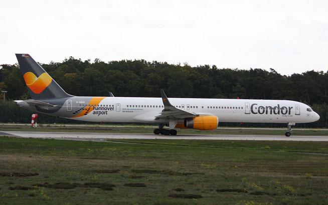 """B 757-330 """" D-ABOC """" Condor -2"""