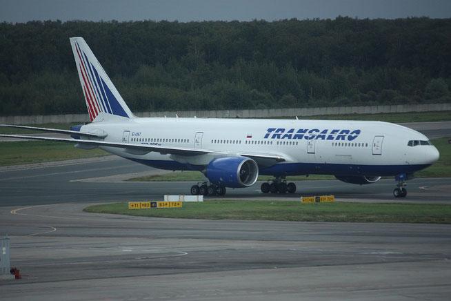 """B 777-212ER """" EI-UNT """" Transaero -1"""