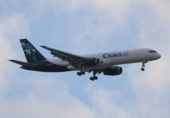 """B 757-236  """" EC-KLD """" Cygnus Air -1"""