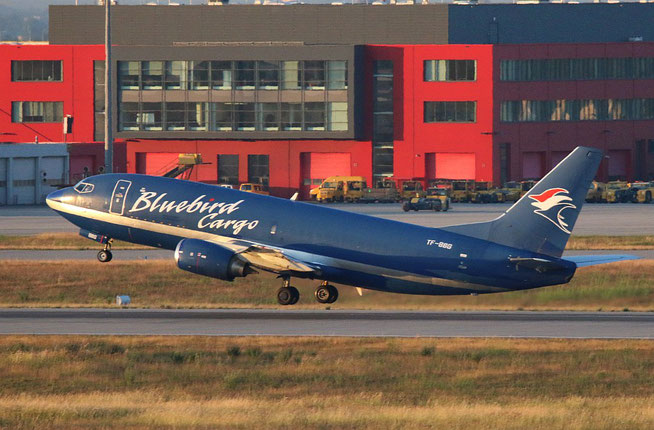"B 737-36E /F "" TF-BBG "" Bluebird Cargo -3"