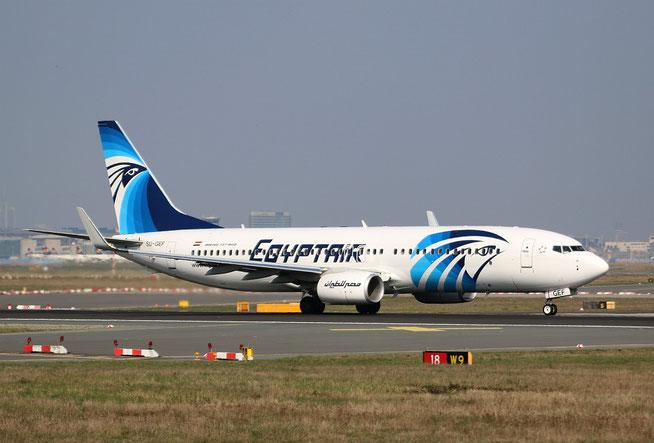 """B 737-866/W """" SU-GEF """" Egyptair -1"""