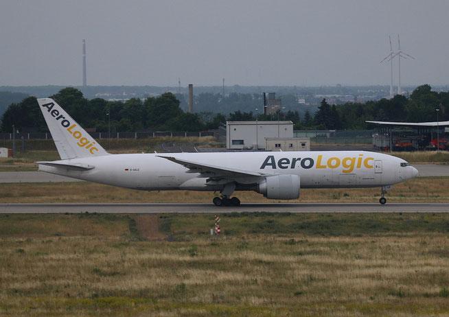 "B777-FZN "" D-AALE "" AeroLogic -2"