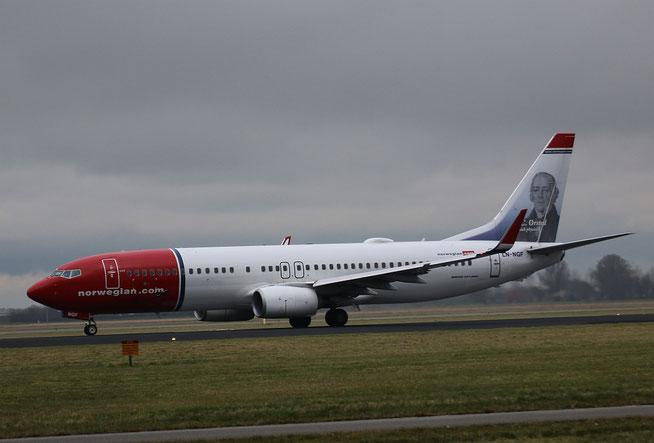 "B 737-8JP/W  "" LN-NGF ""  Norwegian Air Shuttle -1"