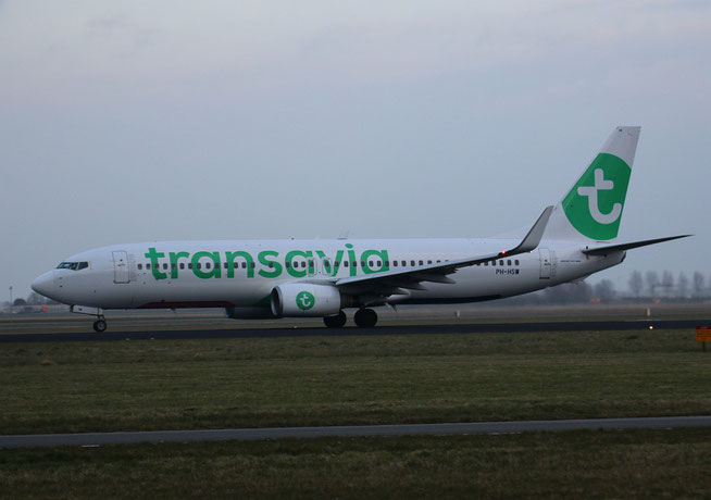 "B 737-8K2/W "" PH-HSW "" Transavia Airlines -1"