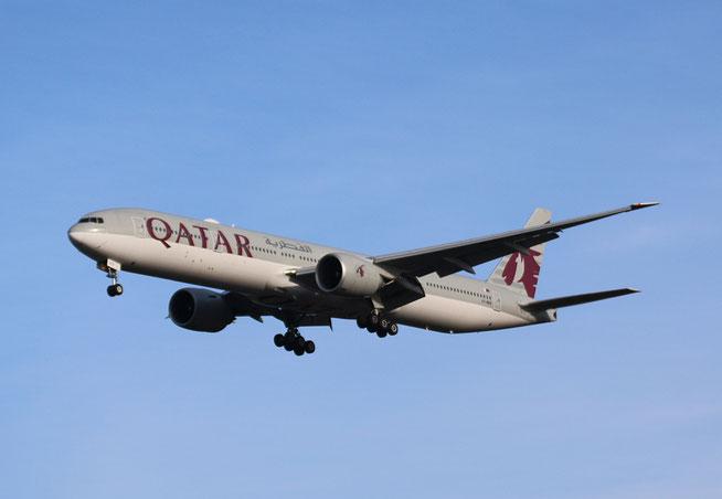 """B 777-3DZ(ER) """" A7-BEB """" Qatar Airways -1"""