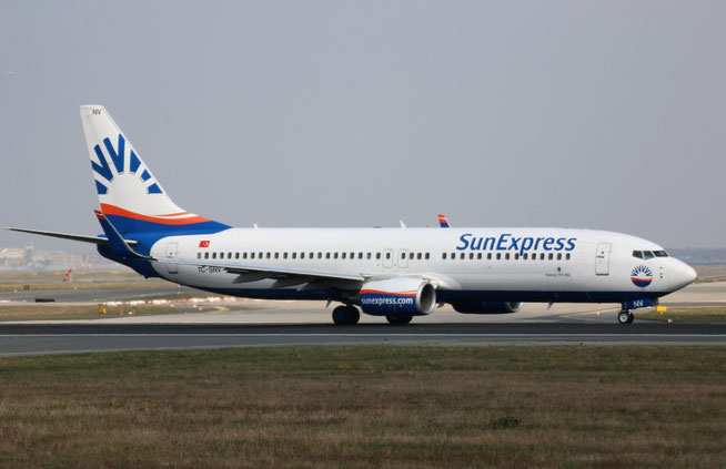 "B 737-86J/W "" TC-SNV "" SunExpress -1"