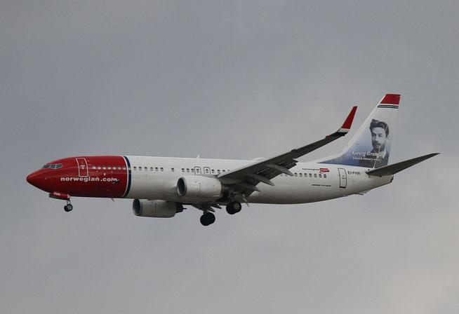 """B 737-8JP  """" EI-FHR """"  Norwegian -1"""