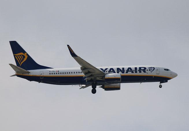 """B 737-8AS (W)  """" EI-FRJ """"  Ryanair -1"""