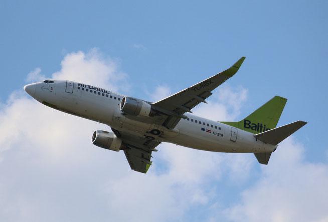 """B 737-36Q """" YL-BBX """" Air Baltic -2"""