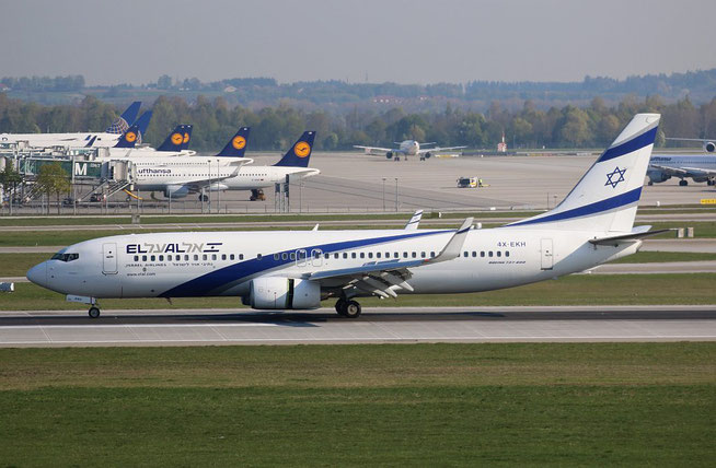 "B 737-85P/WL "" 4X-EKH "" El Al Israel Airlines -1"