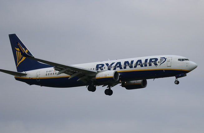 "B 737-8AS (W)  "" EI-EKT ""  Ryanair -1"
