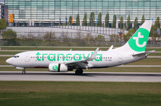 "B 737-7K2/W "" PH-XRA "" Transavia Airlines -2"