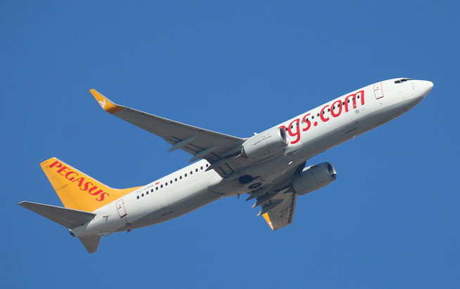 "B 737-82R/W "" TC-CPG "" Pegasus Airline -2"