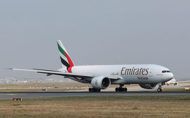 """B 777-F1H """" A6-EFE """" Emirates SkyCargo -1"""