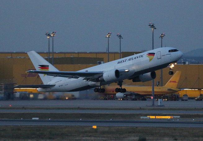 "B 767-232/BDSF  "" SE-RLC ""  West Atlantic Airlines Sweden -5"