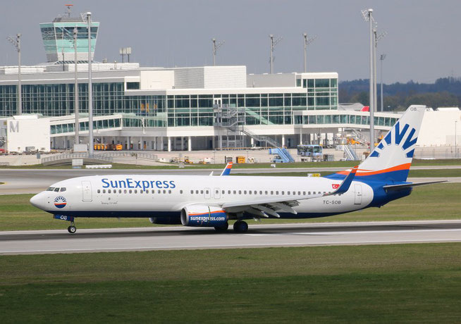 "B 737-8HC/W "" TC-SOB "" SunExpress -2"