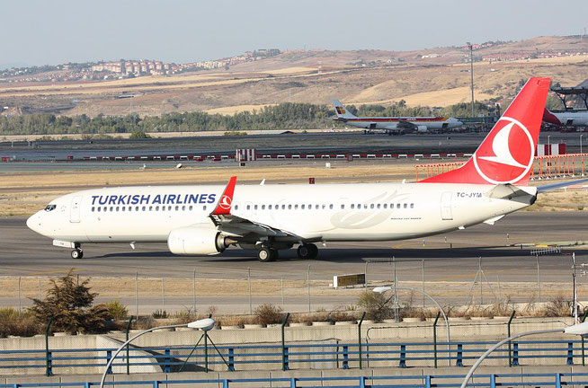 "B 737-9F2ER/W "" TC-JYM "" Turkish Airlines -1"