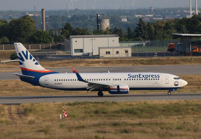 """B 737-86J(WL) """" D-ASXR """" SunExpress Germany -1"""